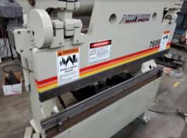 1999 Accurpress 7606 Hydraulic Press Brake (#3789)