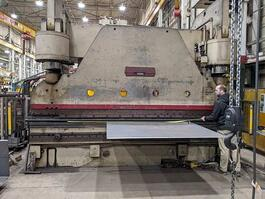1973 Cincinnati 750H Manual Hydraulic Press Brake (#3790)