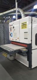 2012 Timesaver 2200 Series Multi-Directional Rotary Brush Deburr Machine (#3801)