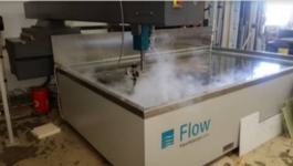 2016 Flow Mach 2 2031B Waterjet Cutting System (#3820)