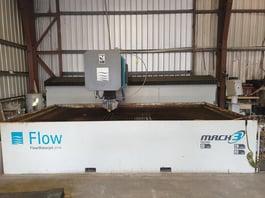 2013 Flow Mach 3 4020B Waterjet Cutting System (#3864)
