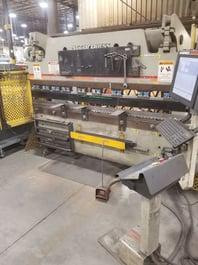 2001 Accurpress 7608 Hydraulic Press Brake (#3894)