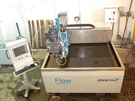 2015 Flow Mach 2 1313b CNC Waterjet Cutting System (#3898)