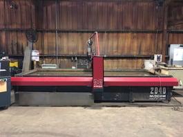 2014 Omax Maxiem 2040 Waterjet Cutting System (#3903)