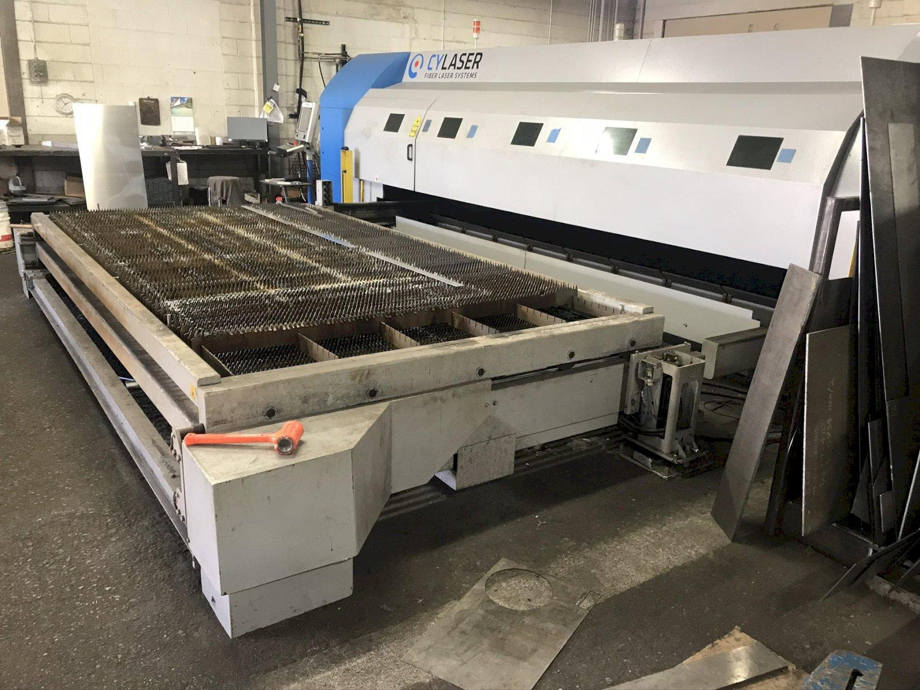 2015 CY Laser CY2040S Laser Cutting System (#3916)