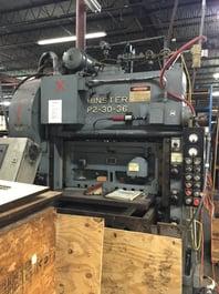 Minster P2-30-36 Punch Press (#3966)