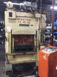 Minster P2-45-32 Piecemaker Punch Press (#3967)