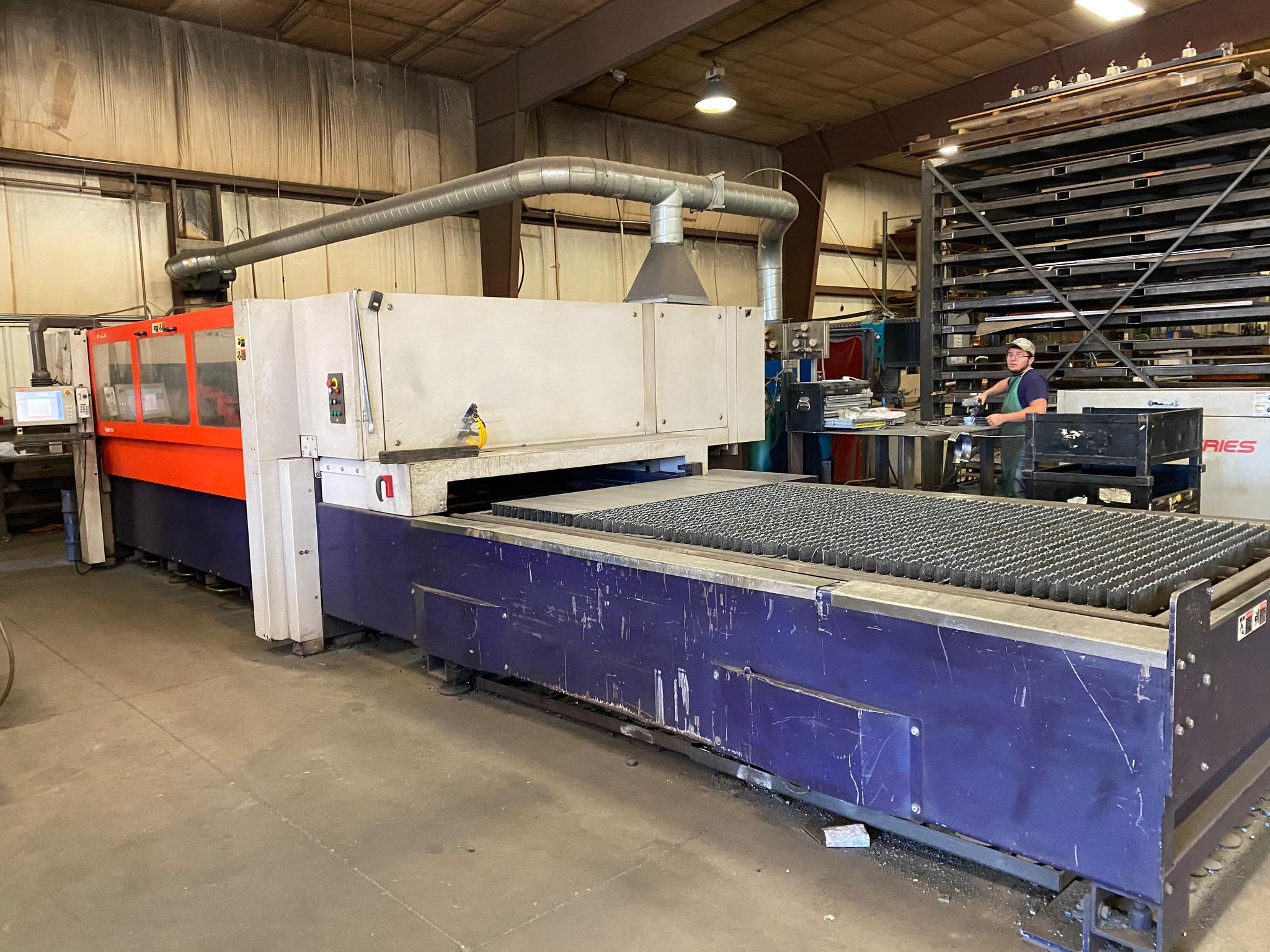 2001 Bystronic Bystar 3015 CNC Laser Cutting System (#3995)