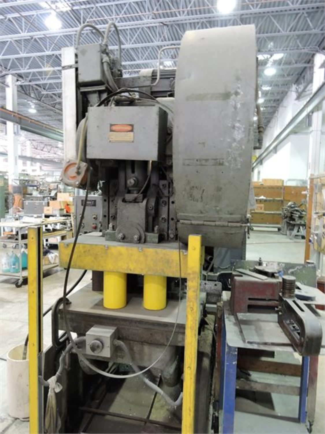 Rousselle #6 Mechanical Punch Press (#4002)