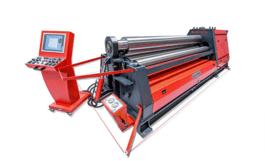 NEW Akyapak AHS 20/08 CNC Plate Roll (#4003)