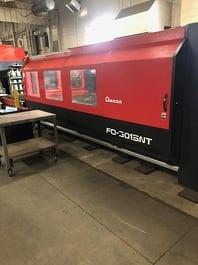 2007 Amada FO-3015NT CNC Laser Cutting System (#4032)