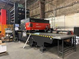 2010 Amada 2415-NT CNC Laser Cutting System (#4033)