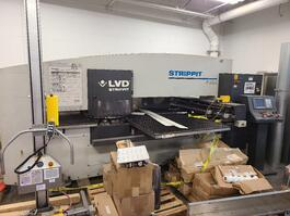 2013 LVD/Strippit P1212 CNC Turret Punching System (#4063)