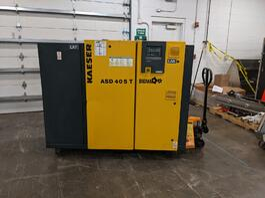 2010 Amada Ez-Cut Nitrogen Generator& 2008 Kaeser ASD 40ST Rotary Screw Compressor Package (#4064)