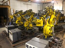 2018 Fanuc America 7-Axis Robotic System w/ Controls and Conveyor (#4079)