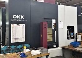 2010 OKK VP600 High Speed CNC Machining Center (#4151)