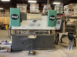 2006 Piranha 100-8F CNC Press Brake (#4190)