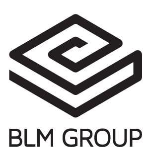 BLM Logo - Black on White