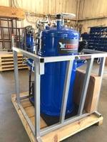 Garnet Slurry VacBOX Extractor Tank