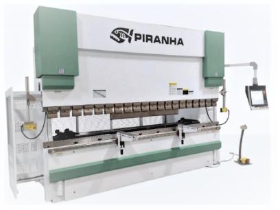 Piranha Precision Hydraulic Press Brake