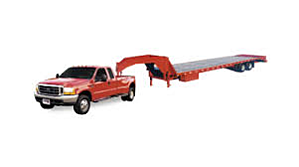 A hot shot pickup truck trailer typically lacks air-ride—or anything else that improves the safety of your equipment.