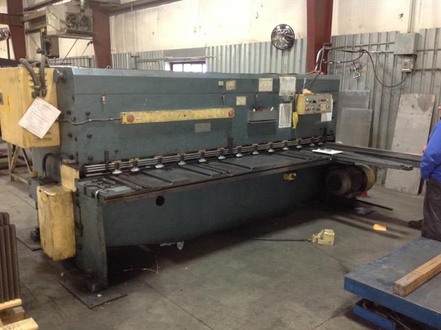 Amada M3060 Power Squaring Mechanical Shear (#1602)