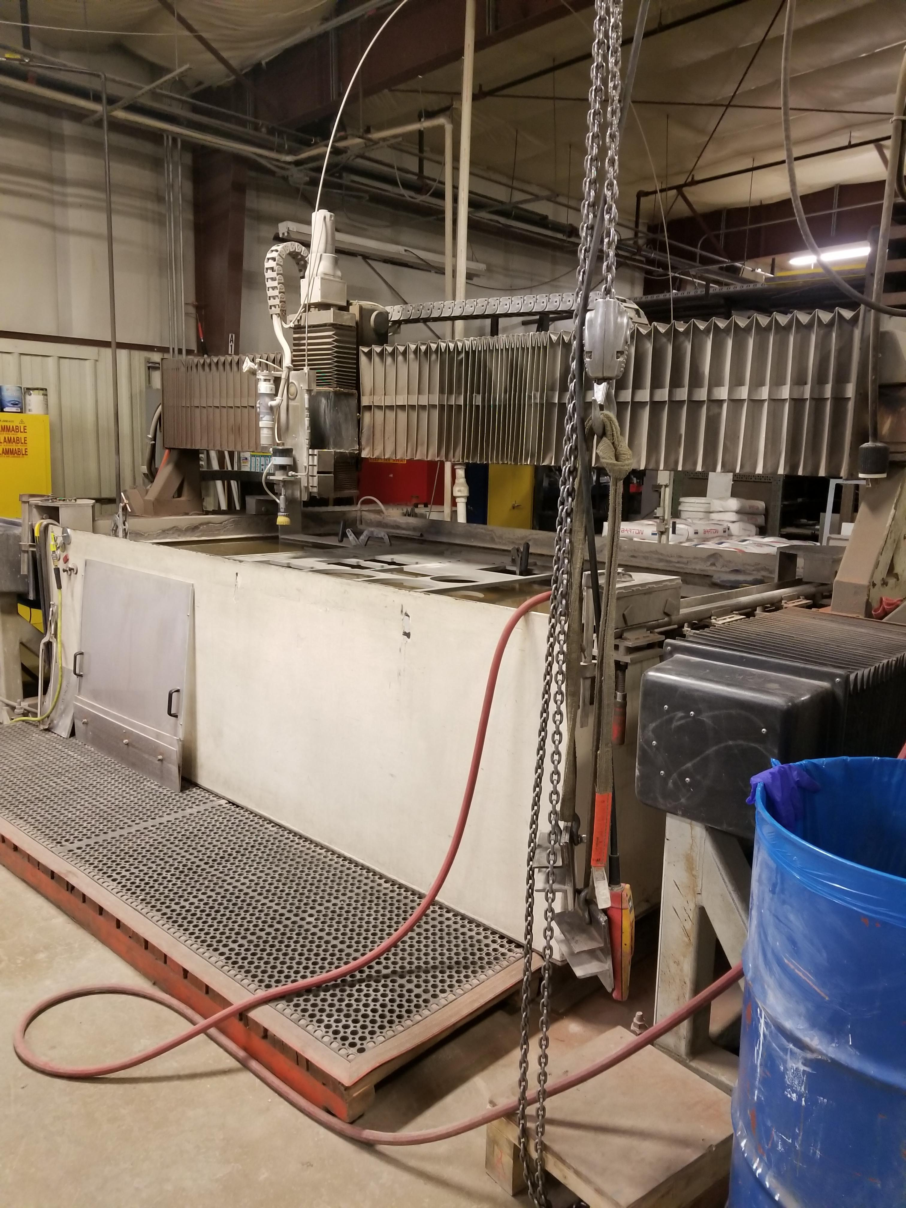 1996 Flow A Series Waterjet Cutting System 1945