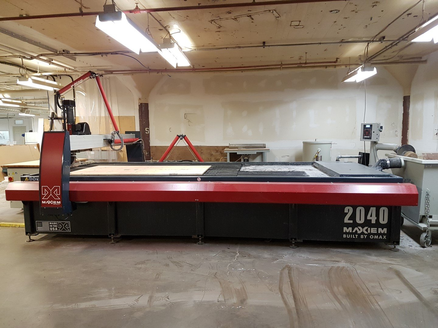 2015 Omax Maxiem 2040 Waterjet Cutting System 1953