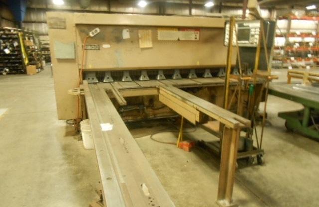 1999 Cincinnati 2500 FSU Hydraulic Power Squaring Shear (#2056)