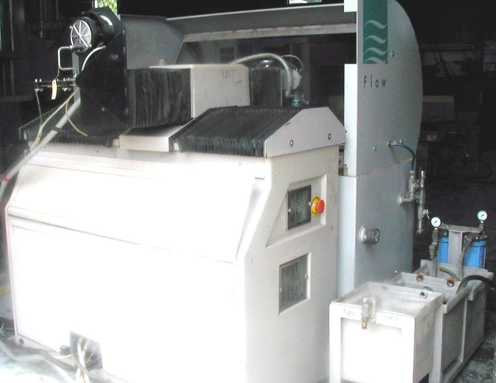 1674) 2001 Flow Bengal IFB-2400 Waterjet Cutting System