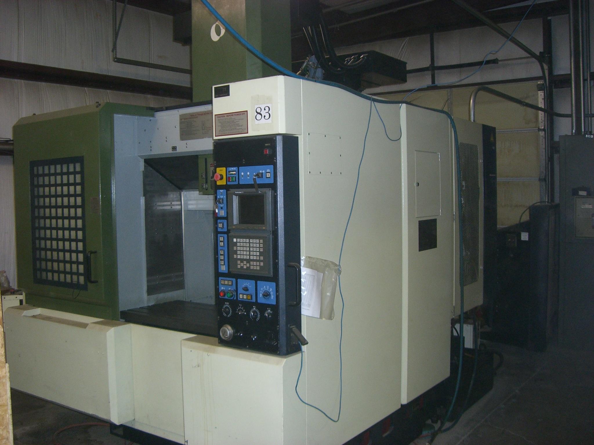 1998 makino v55 vertical machining center 1935 rh southernfabsales com Makino Cincinnati Makino A61