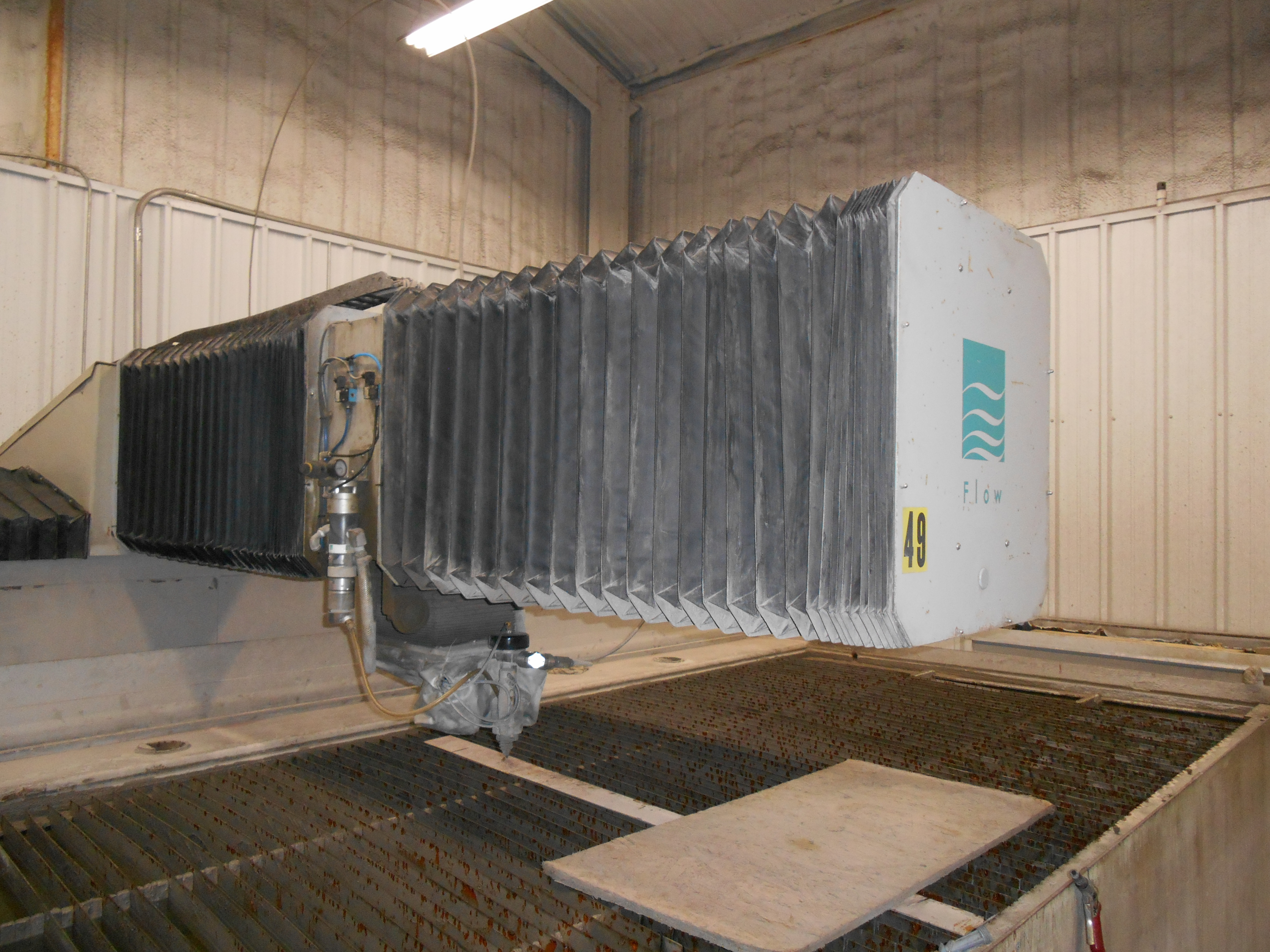2008 Flow IFB 6012 Waterjet Cutting System (#2062)
