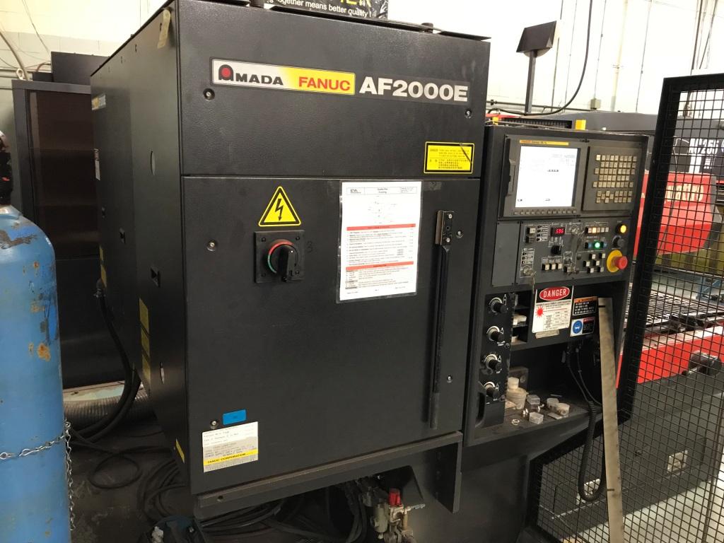 2012 Amada Quattro CNC Laser Cutting System (#3097)