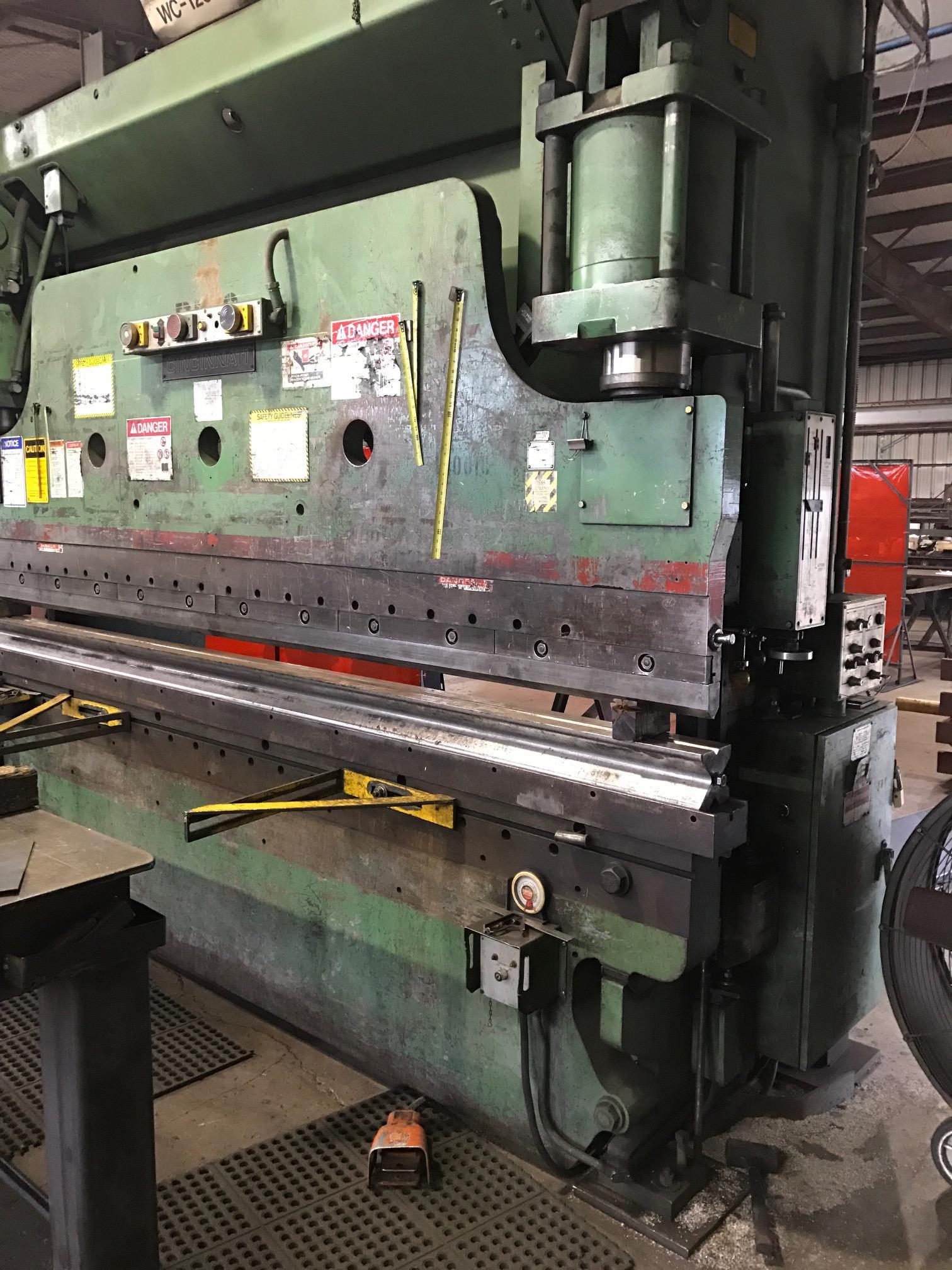 Cincinnati 230-CB10 Hydraulic Press Brake (#1757)